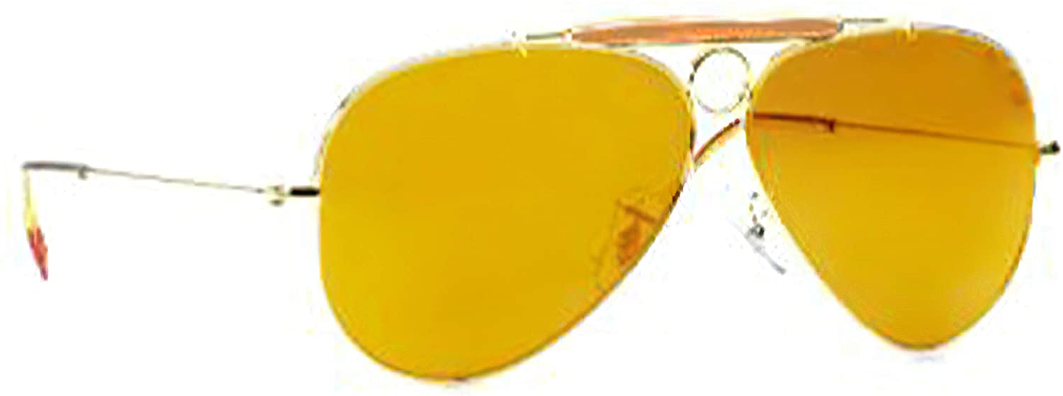 Fear And Loathing In Las Vegas Sunglasses Yellow Lens Aviator Driving Glasses