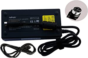 UpBright 4-Hole AC/DC Adapter for Delta ADP-230EB T ADP-230EBT Chinoy A12-230P1A Clevo 6-51-P1752-010 Laptop Notebook PC 19.5V 11.8A 230W Power Supply Cord Battery Charger PSU (w/ 4Hole Female Plug)