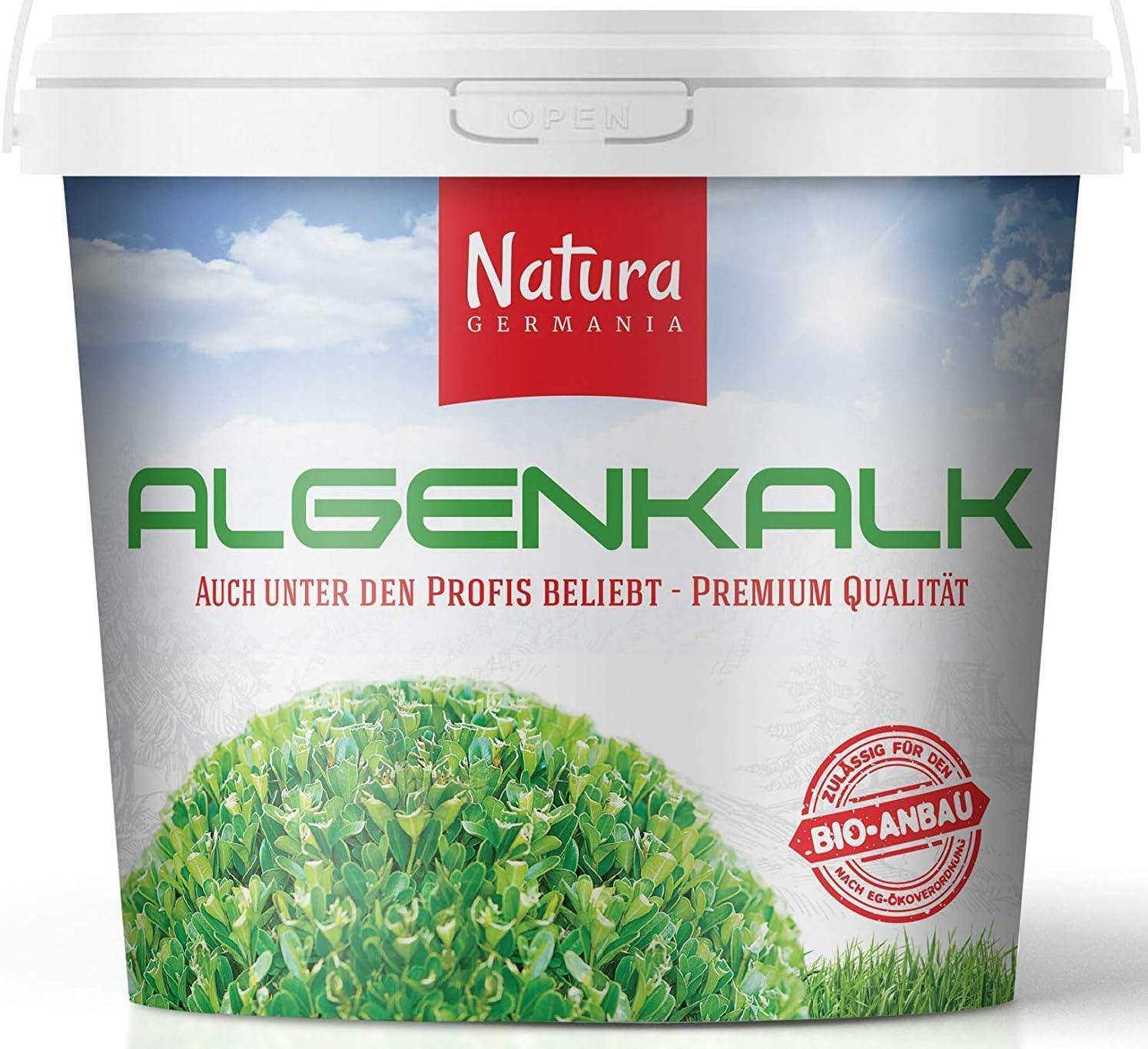 Algenkalk in Pulverform  10 kg fein zum Streuen Blätter Buchsbaum retten Zünsler
