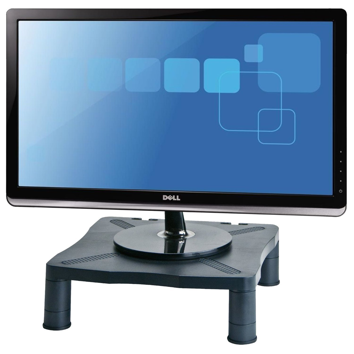Amazon.com: Halter Height Adjustable Monitor Stand - Printer Stand ...