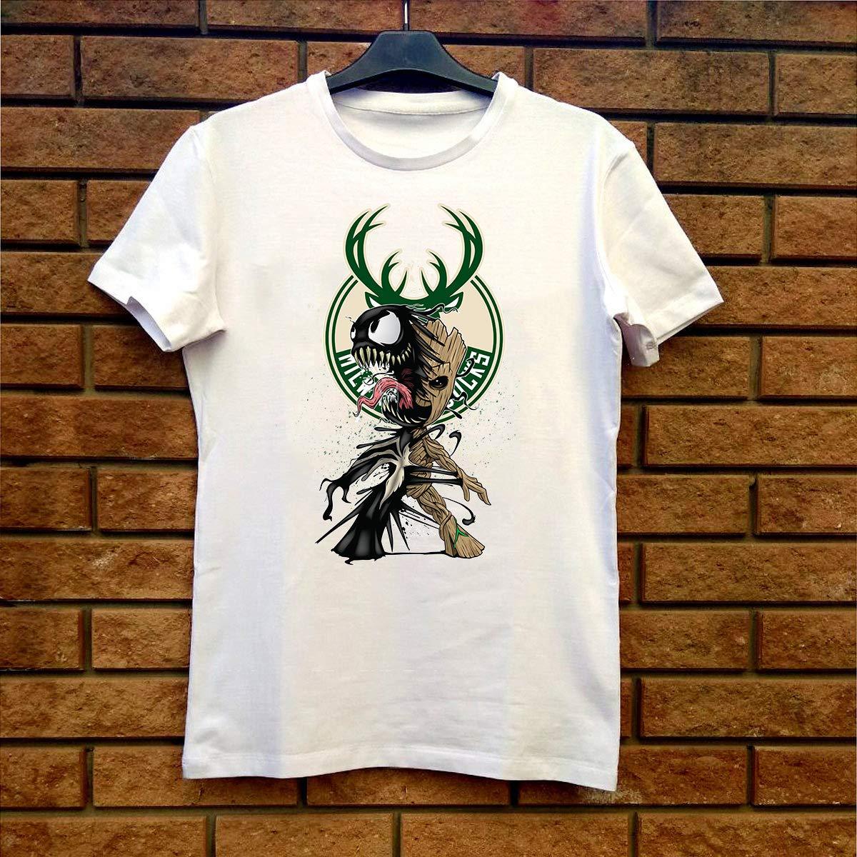 Venom Milwaukee Bucks Fan Gift 4323 Shirts