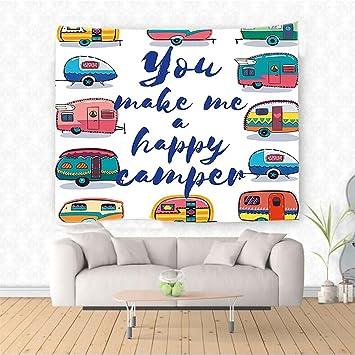 Amazon Com Nalahome Camper You Make Me Happy Camper Motivational