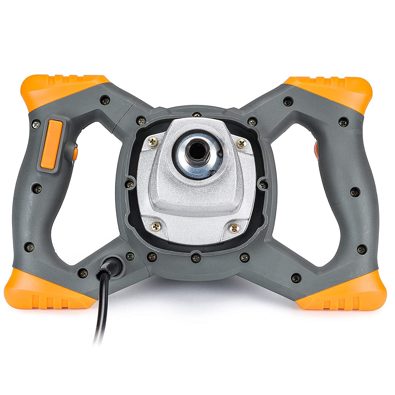 R/ührwerk 2600W inkl.2x R/ührquirl /Ø120mm Mischer M/örtelmischer Betonr/ührer PM0670