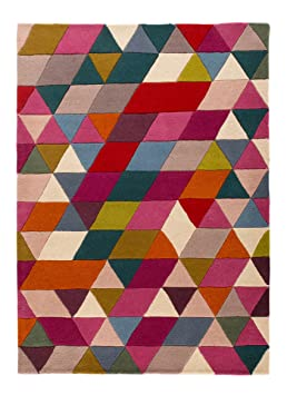 Rugs With Flair Illusion Geometrie Tapis Multicolore 120 X 170 Cm