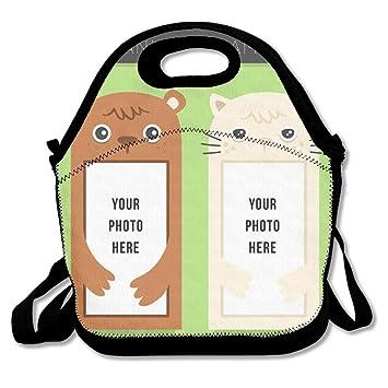 I66d7d - Bolsa de almuerzo portátil para gatos y perros, ideal para todo tipo de familia: Amazon.es: Hogar