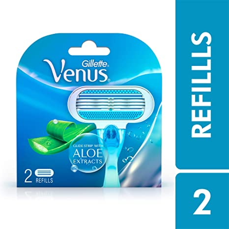 Gillette Venus Razor Blades for Women - 2 Pieces