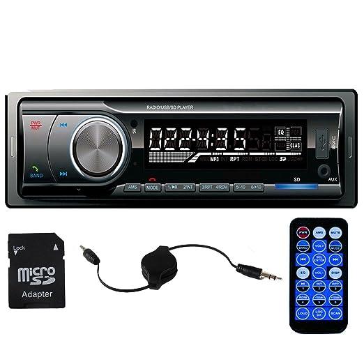 3 opinioni per Panlelo®, PA6219EUR, autoradio, DIN singolo, ricevitore radio FM, Bluetooth