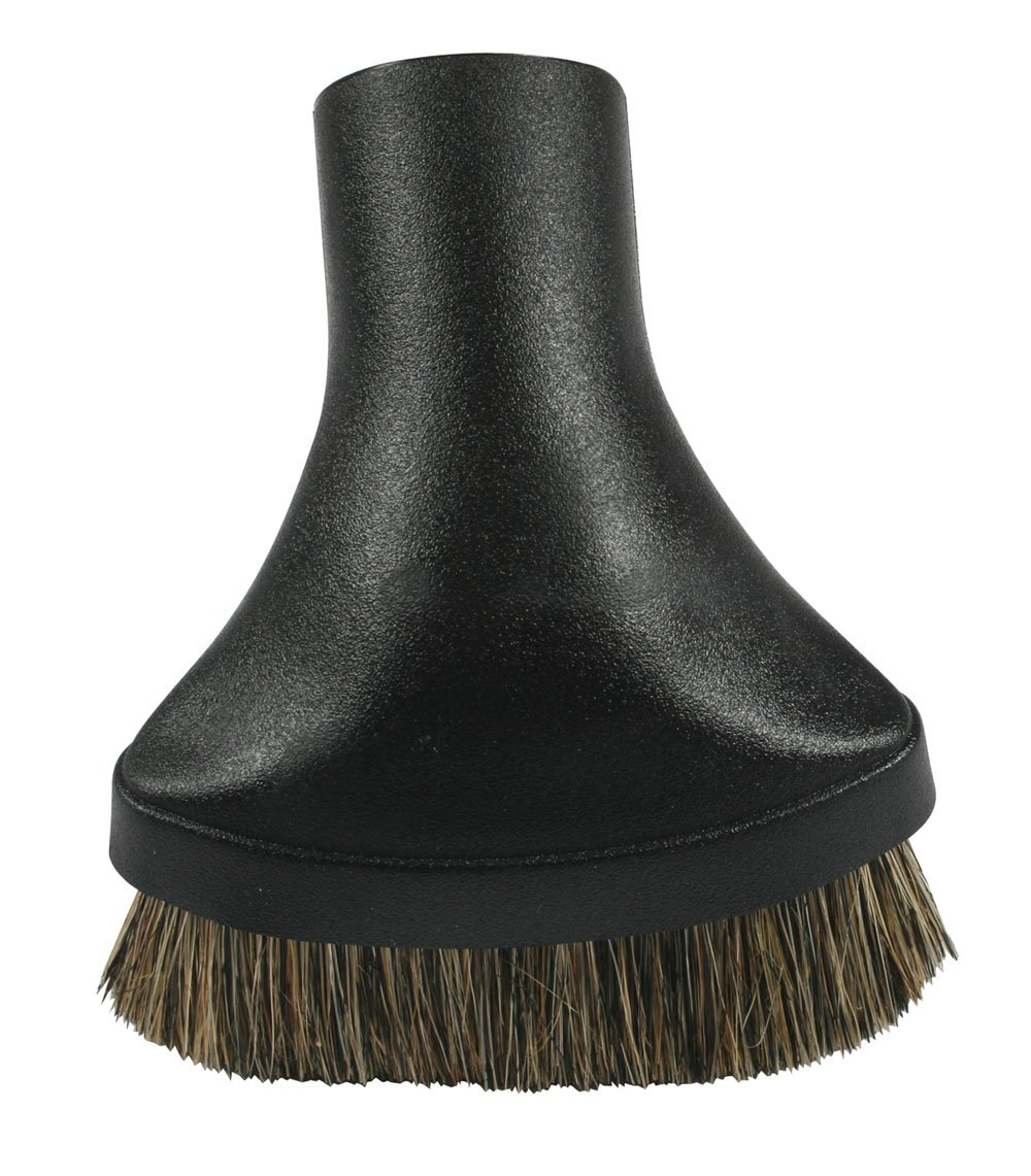 Cen-Tec Systems 34839 Premium Dusting Brush Vacuum Tool with Soft Fill, Black
