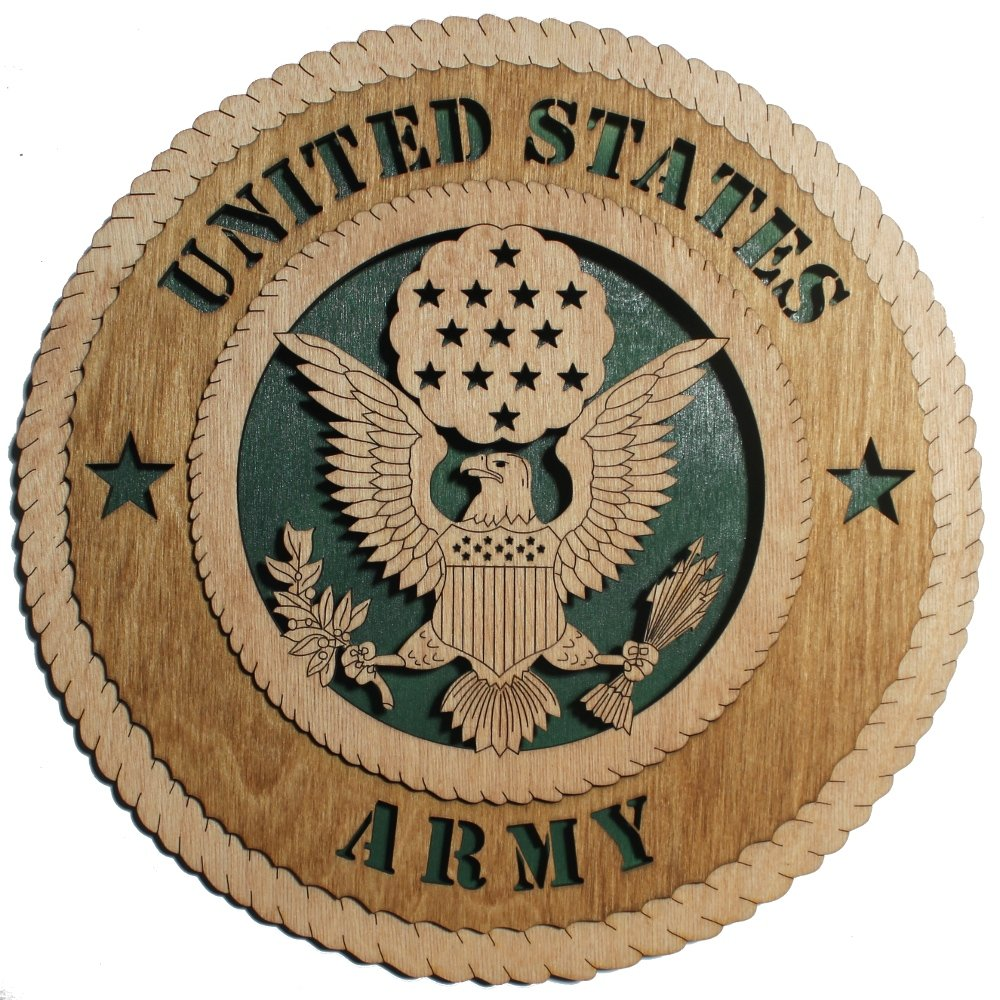11.3 Army Large Wooden Plaque Etch N Sketch