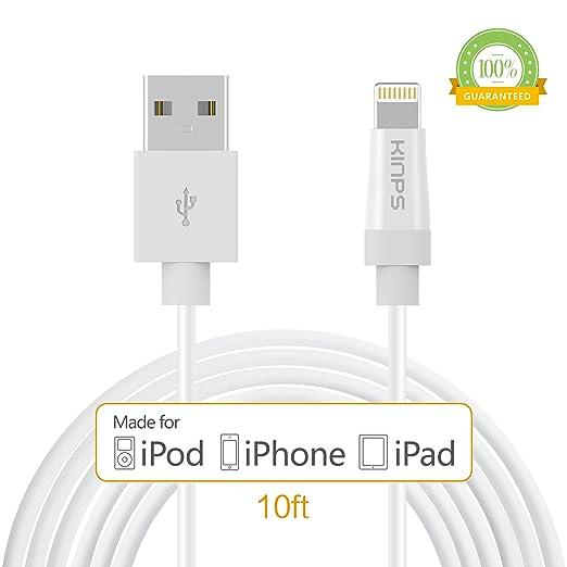 199 opinioni per [Certificato da Apple MFI] Kinps® Cavo
