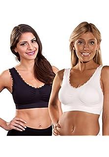 7818797610 Genie Bra Women s Big Twin Pack Bra at Amazon Women s Clothing store ...