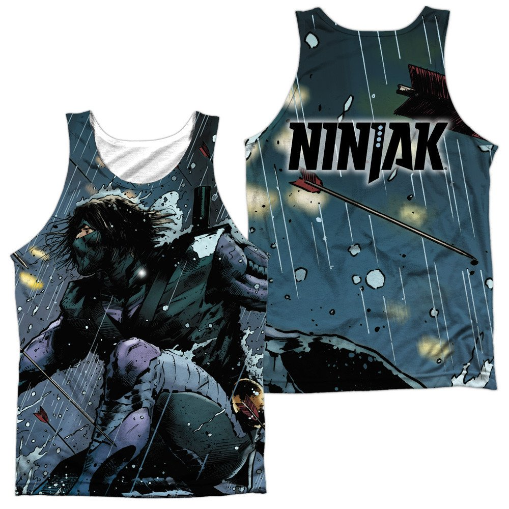 Raining Arrows Adult Tank Top Ninjak