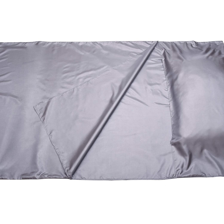 Ultraleicht kompakt und seidig weich The Friendly Swede H/üttenschlafsack Schlafsack Inlay Reiseschlafsack 105 cm x 220 cm