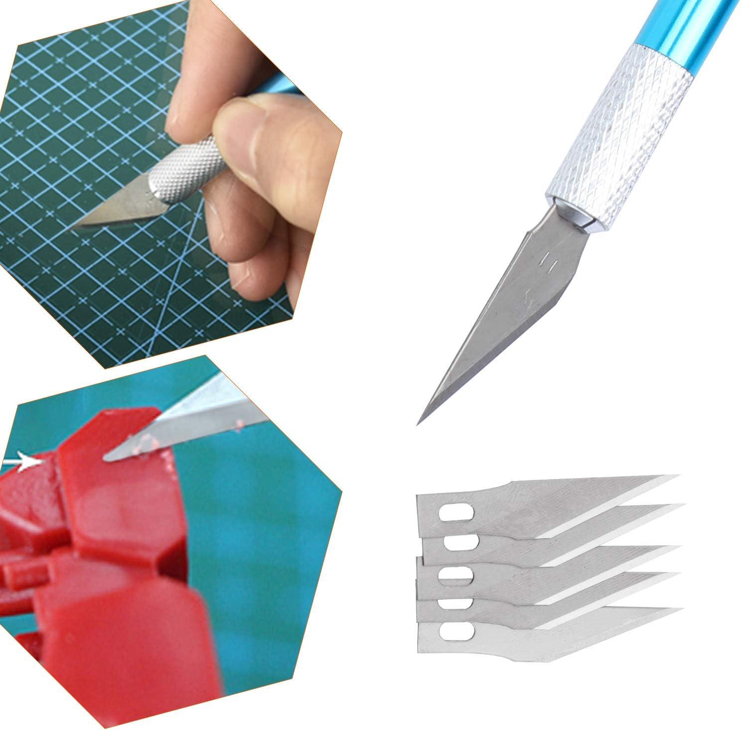 Modellbau Werkzeuge f/ür Automodell Montagebaukasten HSEAMALL 9 ST/ÜCKE Gundam Modeler Grundwerkzeuge