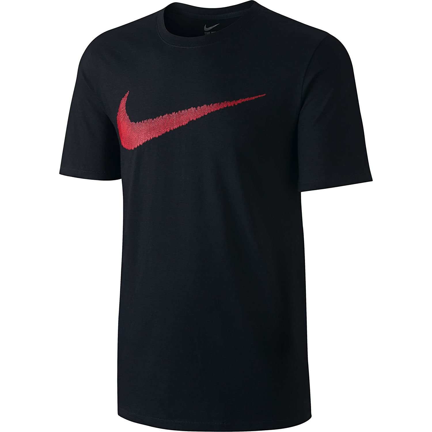 b65943d4d Amazon.com: NIKE Sportswear Men's Hangtag Swoosh Tee: Clothing