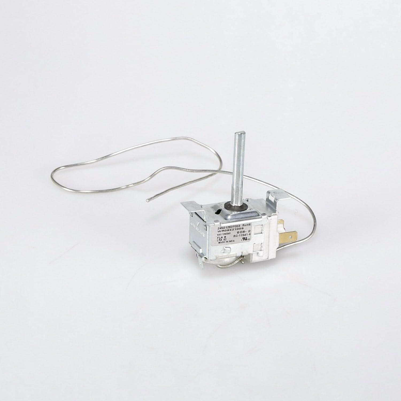 Ge WR49X26875 Refrigerator Temperature Control Thermostat and Sensor Barrier Genuine Original Equipment Manufacturer (OEM) Part