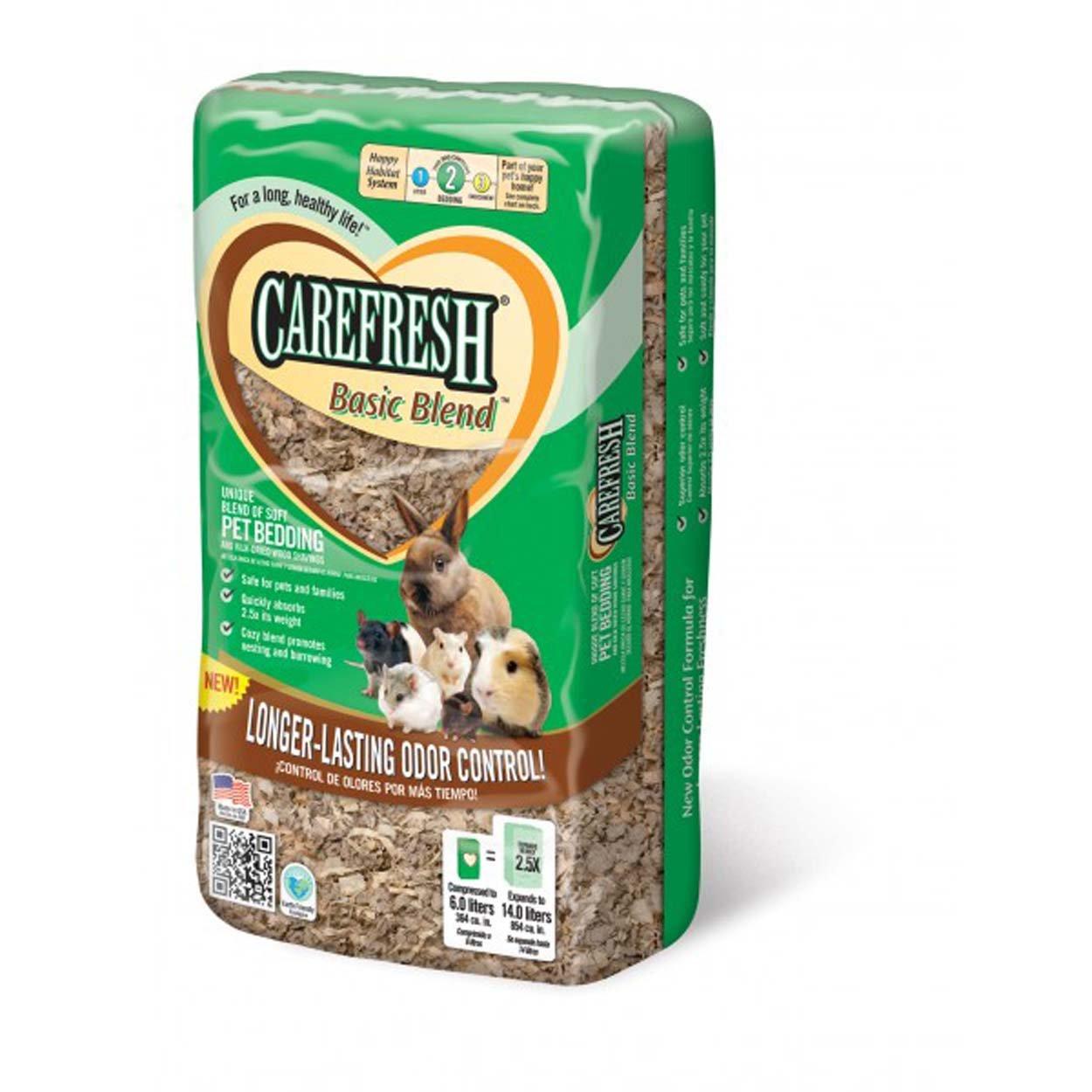 Absorbtion Corp Carefresh Basic Blend Soft Pet Bedding, 14-Liter