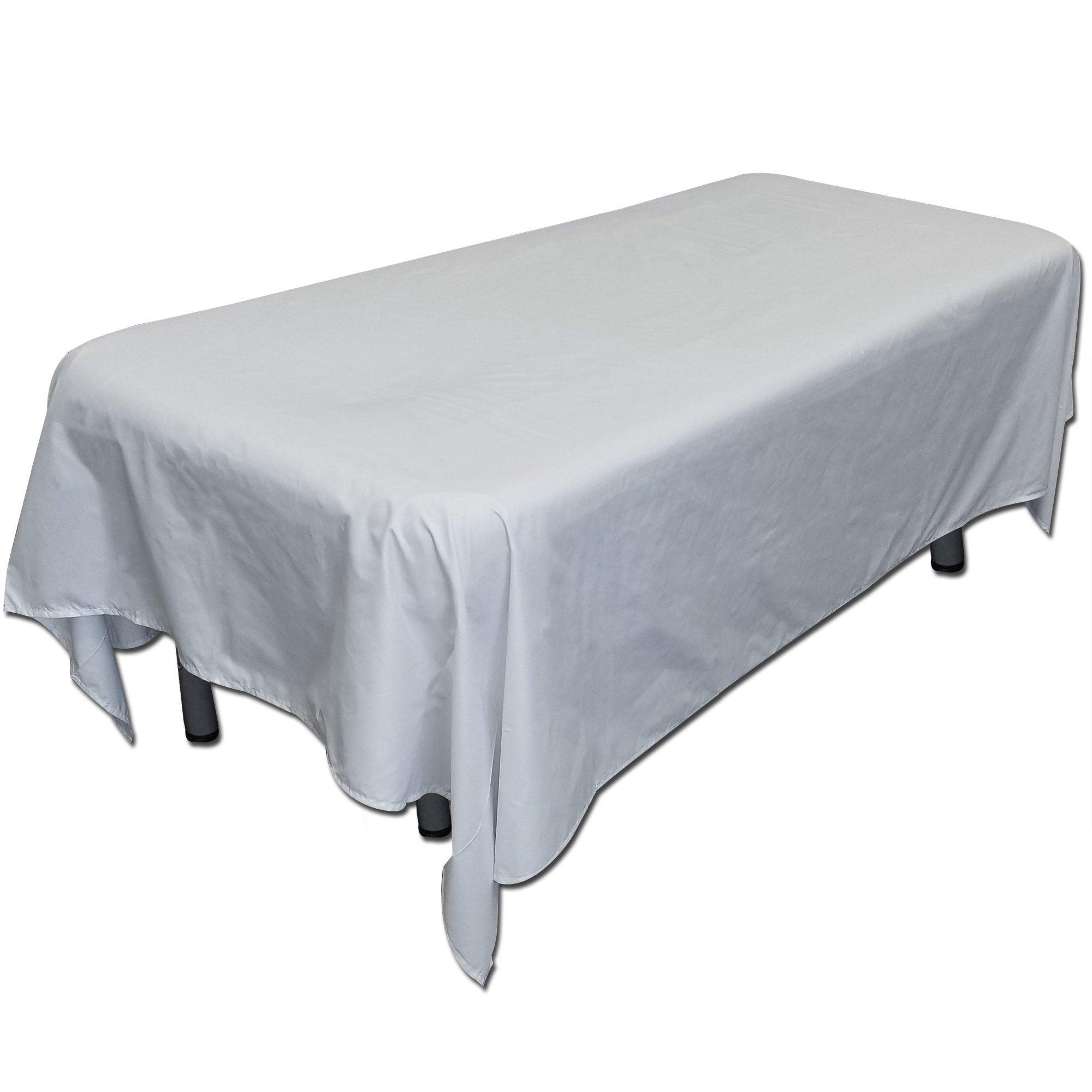 TOA 6pc/pkg Large Comfort Flat Sheets Washable Reusable Massage Table Cover