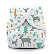 Thirsties Duo Wrap Cloth Diaper Cover, Snap Closure, Woodland Size One (6-18 lbs)