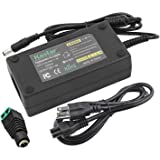 Kastar AC Adapter, Power Supply 12V 6A 72W, Tip Size 5.52.5mm for LCD Monitor, LCD TV, 5050 3528 5630 LED Strip Light, Tape L