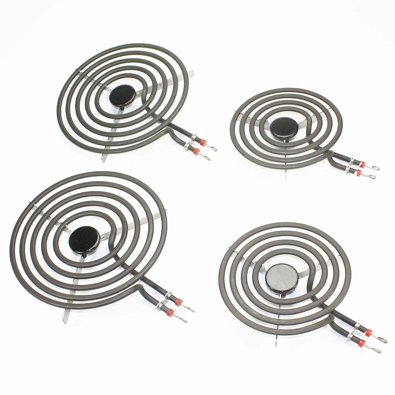 Supplying Demand MP22YA Electric Range Burner Kit 4 Piece Set MP15YA MP21YA