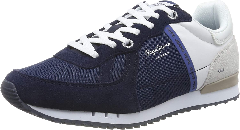 Pepe Jeans Tinker Zero Seal, Zapatillas para Hombre: Amazon.es: Zapatos y complementos