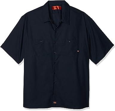 Dickies - - Camisa Industrial Corto Trabajo manga - LS535: Amazon.es: Amazon.es
