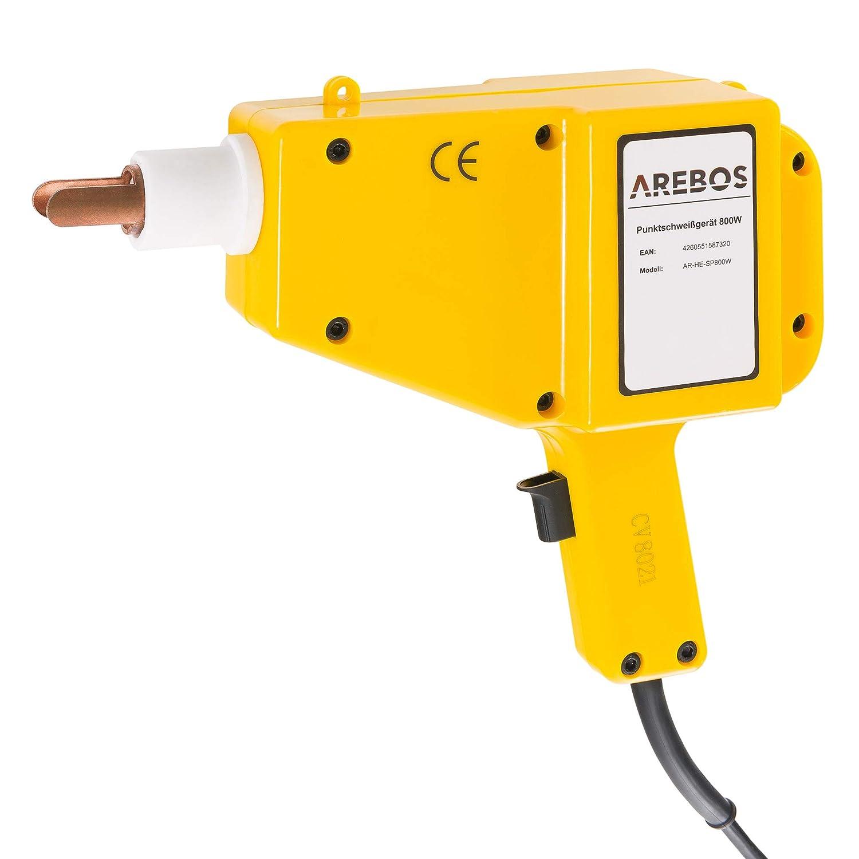 Arebos punto sudor dispositivo ausbeulspotter/800 W/1600 a ...