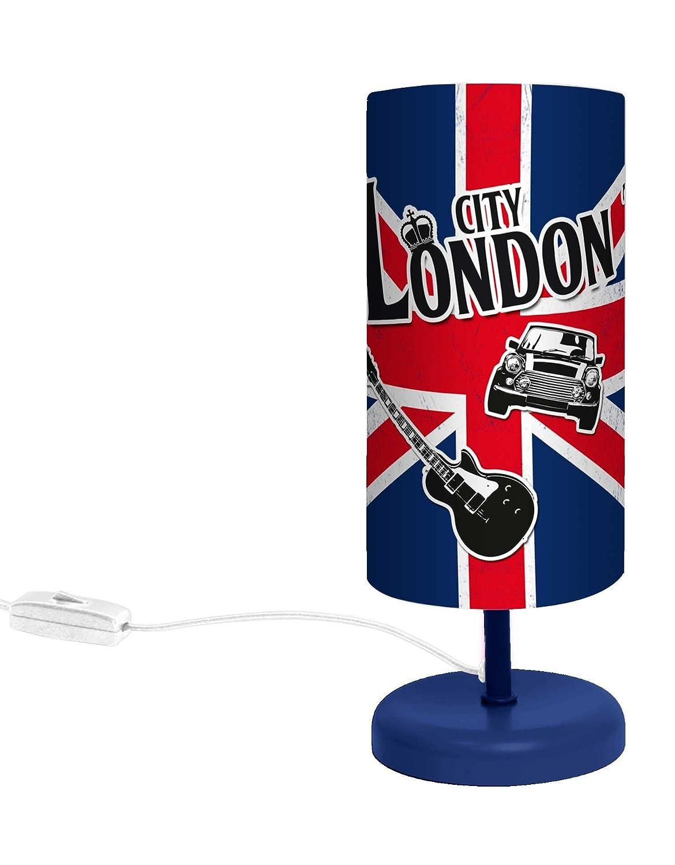 Lampe Londres Union Jack Abat Jour Amazon Fr Luminaires Et Eclairage