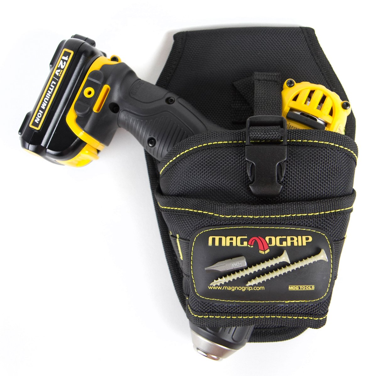 MagnoGrip 002 580 Magnetic Drill Holster Left and Right Handed Black