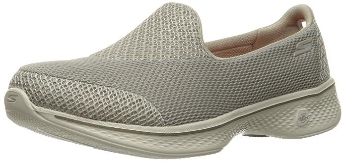 Skechers Go Walk 4-Propel, Zapatillas para Mujer, Beige (TPE), 37.5 EU
