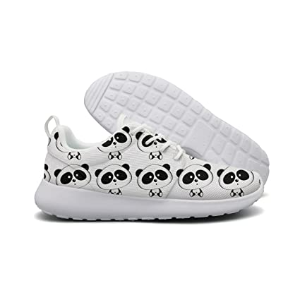 Amazoncom Lady Cute Cartoon Baby Panda Jogging Shoes Sports