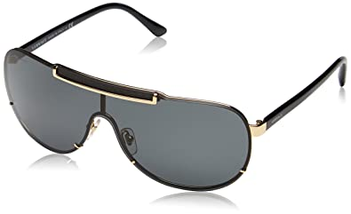 Amazon.com: Versace (VE2140) anteojos de sol de metal para ...