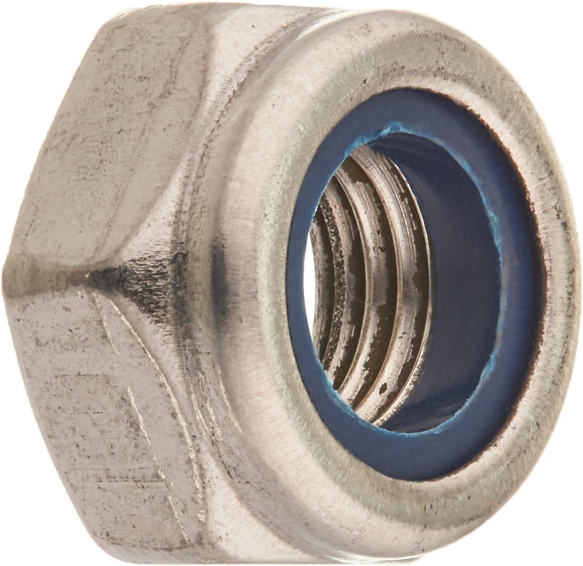 Alamor M3An9 10Pcs M3 De Aleaci/ón De Aluminio Hexagonal Tuerca Hexagonal De Bloqueo De La Tuerca Multicolor Gris