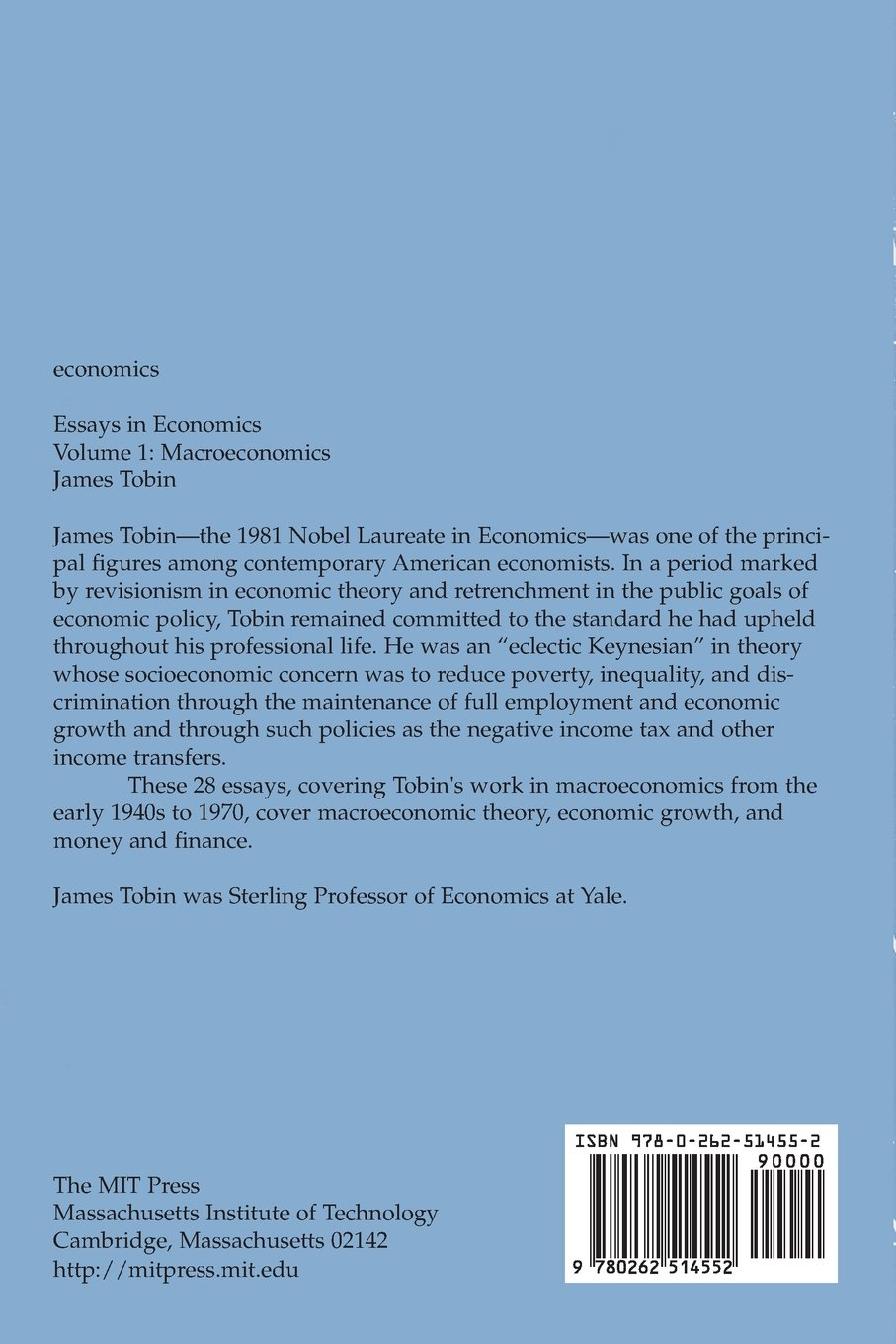 essays economics james tobin  essays economics james tobin