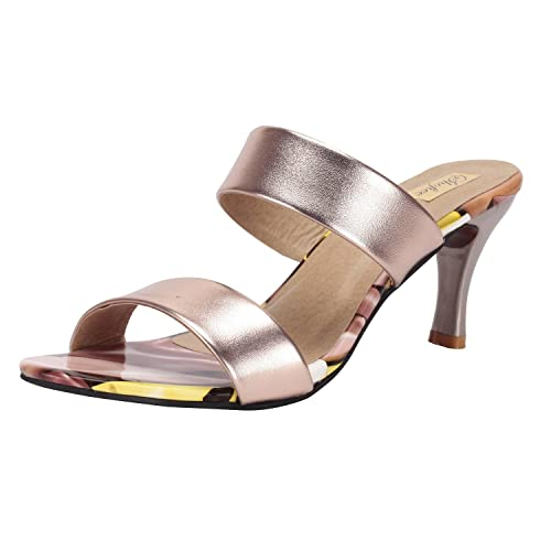 ef2963a0cef1 SHOFIEE Women s Stylish Party WEAR Heels Casual WEAR Trendy Heels  Buy  Online at Low Prices in India - Amazon.in