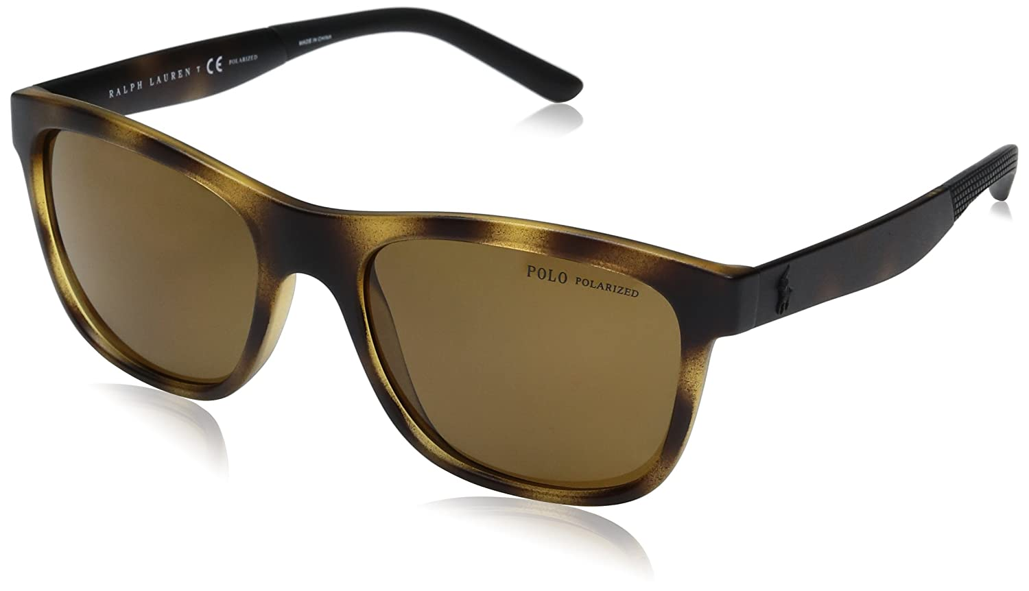 Polo Ralph Lauren Mens PH4120 Wayfarer Sunglasses