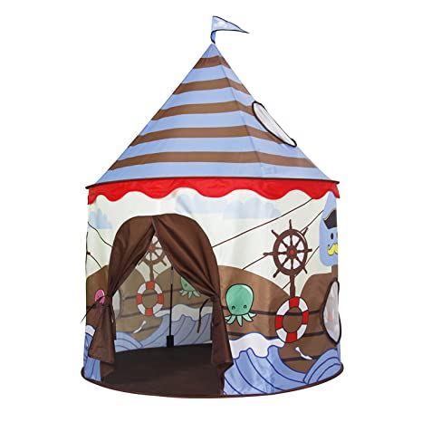 Homfu Play Tent For Kids Castle Playhouse For Children Boys Viking Pattern Popup Tent  sc 1 st  Amazon.com & Amazon.com: Homfu Play Tent For Kids Castle Playhouse For Children ...