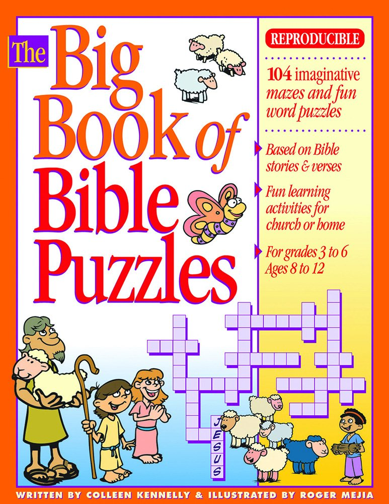 The Big Book of Bible Puzzles Big Books Colleen Kennelly Roger – Learning the Books of the Bible Worksheet