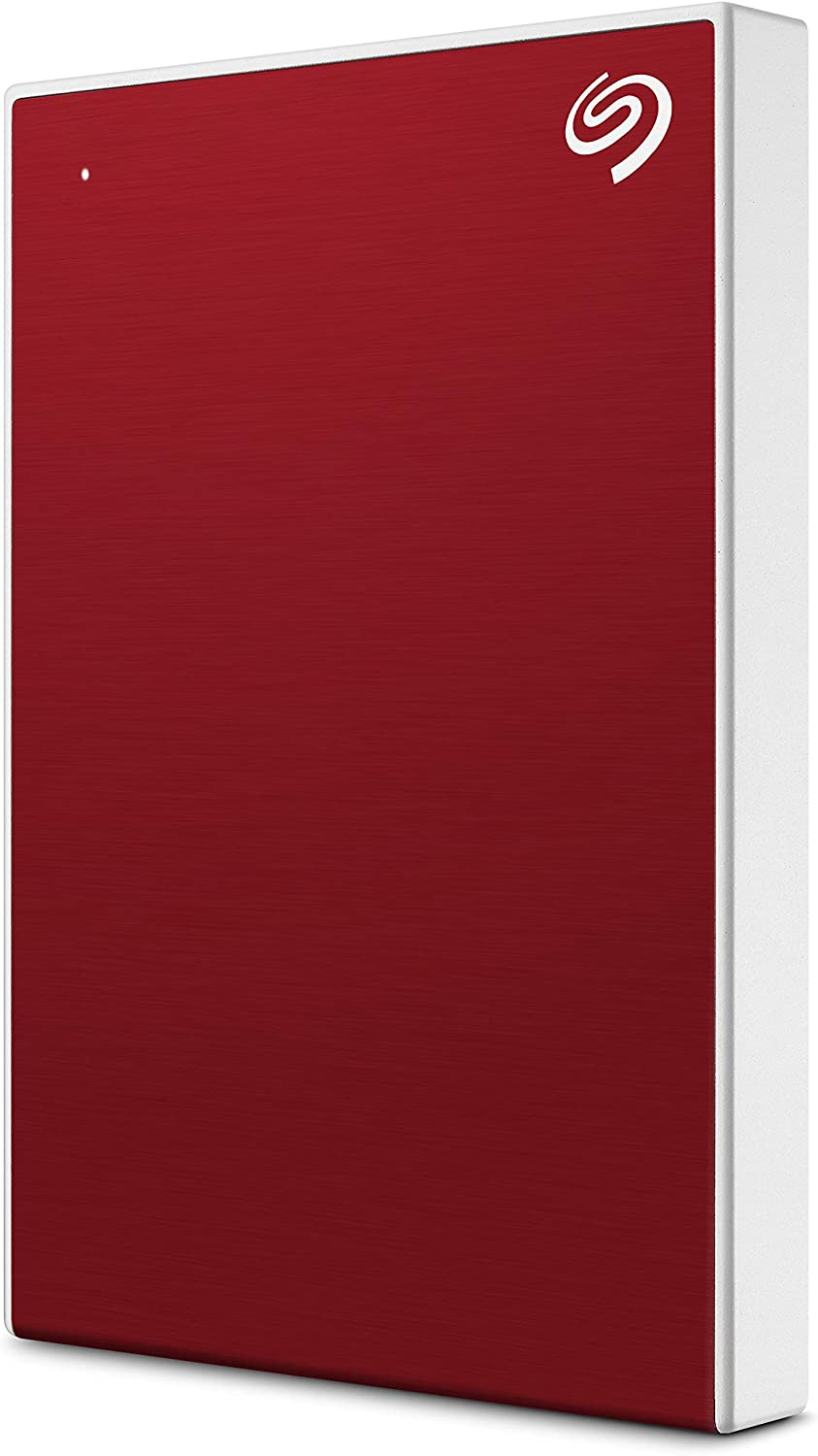 Seagate Backup Plus Slim 1TB External Hard Drive Portable HDD – Red USB 3.0 for PC Laptop and Mac, 1 year Mylio Create, 2 Months Adobe CC Photography, (STHN1000403)
