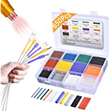 Pointool Heat Shrink Tubing Kit-Wire Shrink Wrap Tubing Wire Heat Shrink Tube Kit Insulation Electrical Colored Assorted…