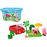 BIG Spielwarenfabrik Big 800057103 - PlayBIG Bloxx Peppa Pig Picnic Fun