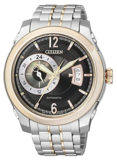 Citizen NP3004-53E - Reloj analógico automático para Hombre, Correa de Acero Inoxidable: Amazon.es: Relojes