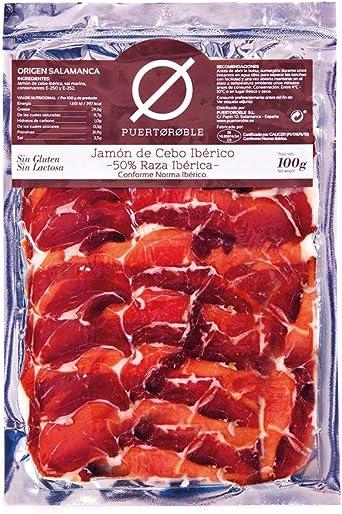 Jamón Ibérico Cebo De Campo 50 Raza Ibérica Jamon Deshuesado Ibérica Loncheada 3 Packs Envasado Al Vacío Puertoroble Amazon Es Alimentación Y Bebidas