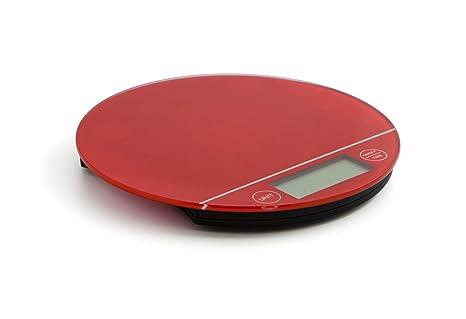 Quid Bascula Digital Red D20X2 Prepara, Rojo, 2.22 cm