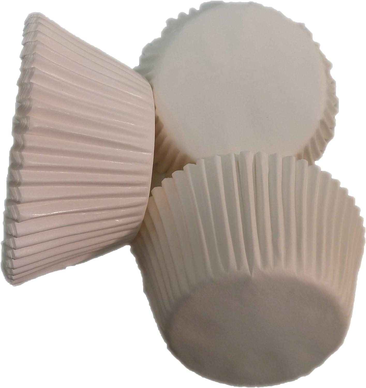 Blanches caissettes sulfuris/ées Scrumptious 51 x 38 mm