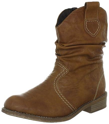 Rieker Damen 72784-22 Cowboy Stiefel, Braun (nuss   22), 42 EU ... 08b384de89