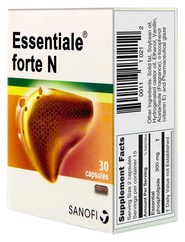 Amazon.com: essentiale N 30 Cápsulas (300mg Forte): Health ...