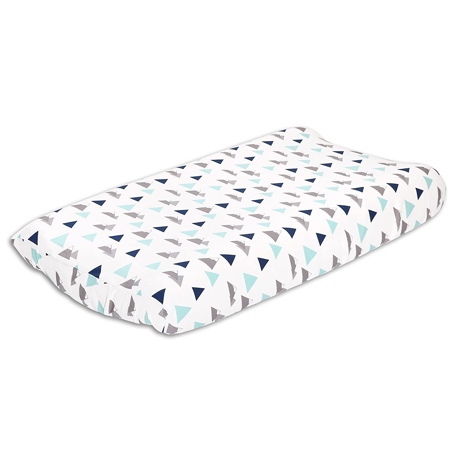 Woodland Trail Mountain Theme Changing Pad Cover by The Peanut Shell Farallon Brands CPMTMU