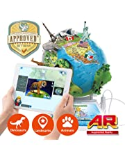 Oregon Scientific Smart Globe Adventure SG268RX - Interactive SmartGlobe with Smart Pen and 3D Augmented Reality | STEM Approved